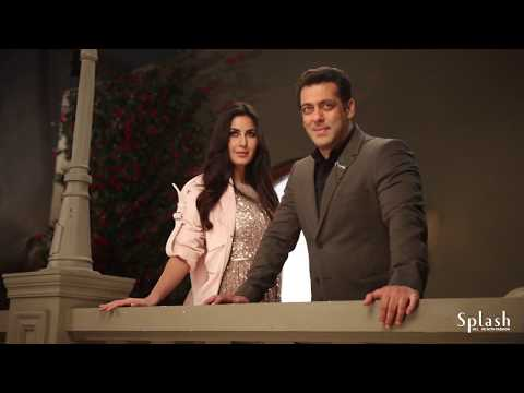 Behind-the-scenes with Salman Khan & Katrina Kaif on sets for our AW'17 campaign.