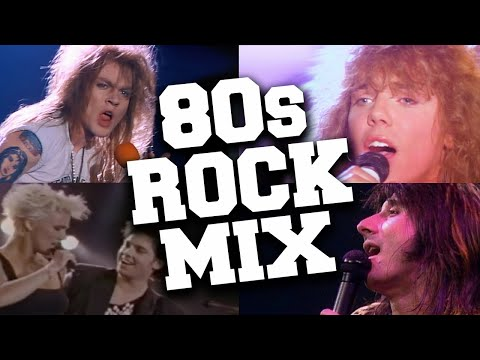 Rock Songs of the 80s Mix 🤘 Best 80s Rock Music Hits Playlist