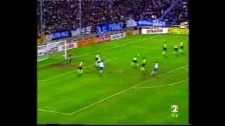 Real Zaragoza 2 - Borussia de Dortmund 1 UEFA Temporada 92-93 (1)