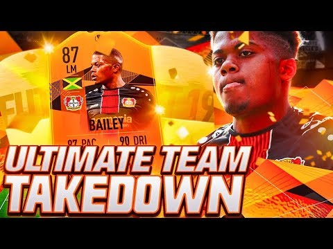 TEAM TAKEDOWN MADNESS! 87 UEL MOMENTS BAILEY TEAM TAKEDOWN! FIFA 19 Ultimate Team