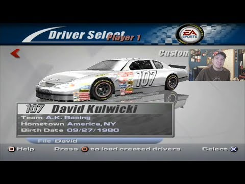 (A New Adventure) NASCAR Thunder 2002 Career Mode At Daytona Race 1/12