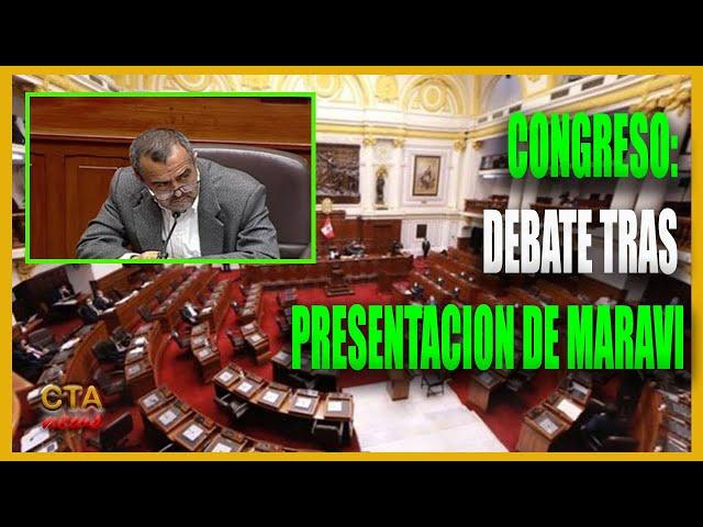 CONGRESISTAS DEBATIERON 🔴 TRAS PRESENTACION DE MINISTRO IBER MARAVI