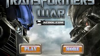 Transformers War - Game Play Level 1 & 2 - 2015 - HD