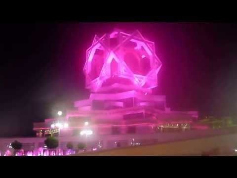 1001 Adventure Tours | Travel Blog - Travel Minute | Ashgabat at Night - Turmenistan Tours