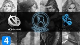 NewBee vs ViCi Gaming Highlights #4 The Summit - Qualifiers
