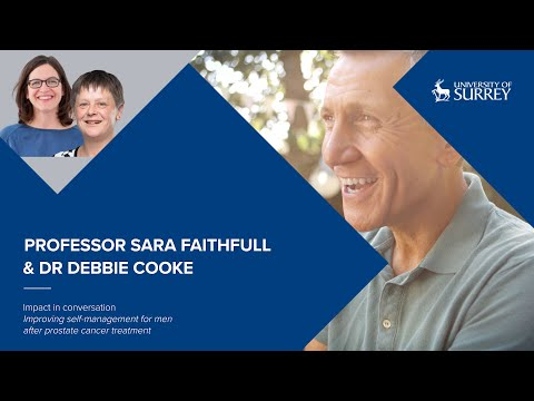 Play video: Impact in Conversation: Professor Sara Faithfull and Dr Debbie Cooke | University of Surrey