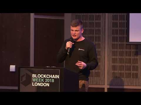Bethereum Pitching At The London Blockchain Week 2018