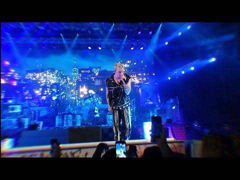 Il cielo nella stanza live salmo youtube for Il cielo nella stanza testo