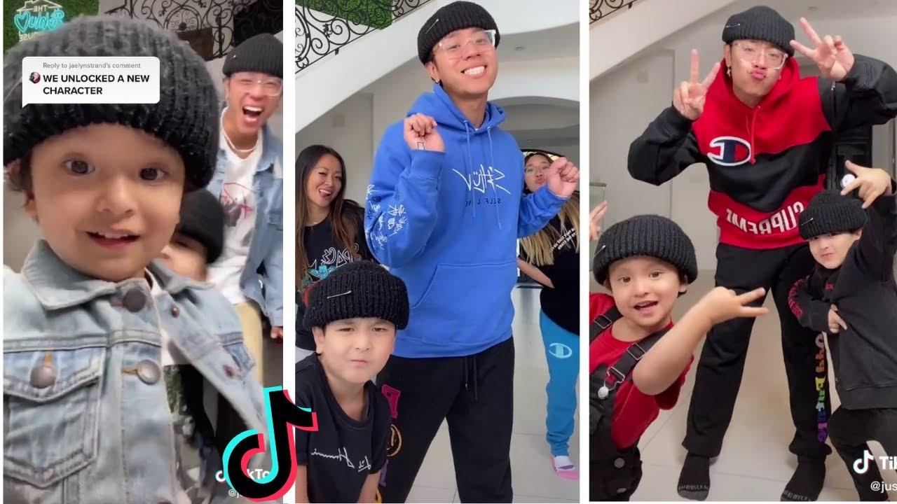JustMaiko (Michael Le) TikTok Dance Compilation ~ Ft Jonathan, Daniel, Tiffany & Tina ~ Shluv Family
