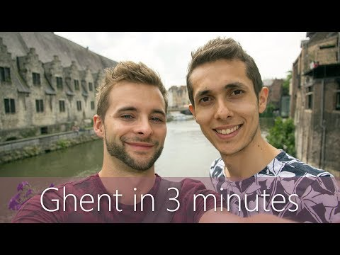 Ghent in 3 minutes | Travel Guide | Must-sees for your city tour