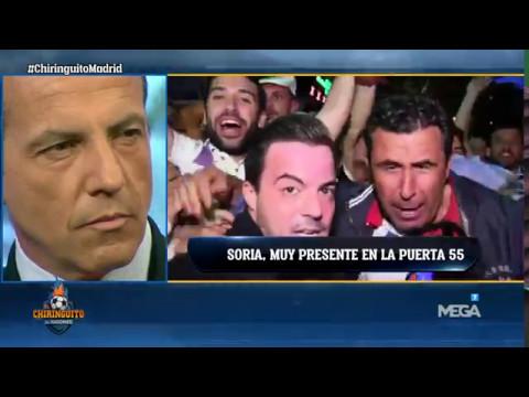 El madridismo se acuerda de Soria en la victoria del Madrid ante el Sevilla