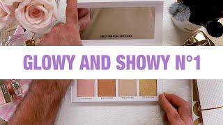 Scott Barnes TV - Glowy & Showy N°1 Highlighter Palette Breakdown