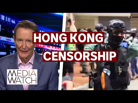 China cracks down on media freedom in Hong Kong | Media Watch