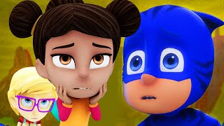 PJ Masks Full Episodes | CATBOY'S CLOUDY CRISIS | 2.5 HOURS Compilation | Cartoons for Children #95 thumbnail
