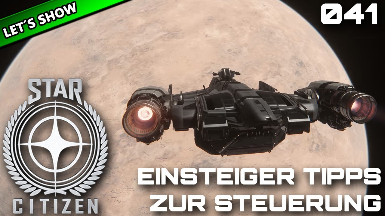 Star Citizen Steuerung