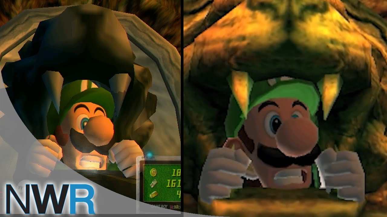 Luigi S Mansion 3ds : Luigi s mansion ds vs gamecube comparison youtube