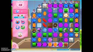 Candy Crush Level 1423 Audio Talkthrough, 3 Stars 2 Boosters