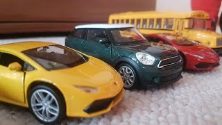 Cars for Kids Driving on the rug ( Toy Cars ) Video for Kids