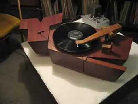 Whale...Singing Diy Wooden Turntable