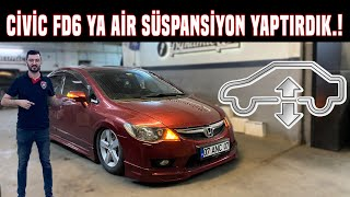 HONDA CİVİC FD6 AİR SÜSPANSİYON YAPTIRDIK.!