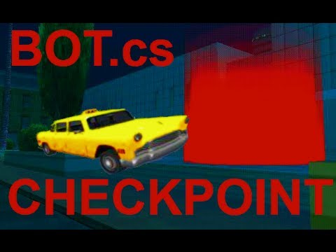 [SAMP]BOT]Checkpoint.cs - (not working well) Automatically drive to checkpoints!