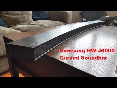 Samsung HW-J6000 Curved Soundbar Review