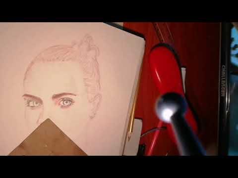 Dibujando un rostro. Cara Delevigne, Final
