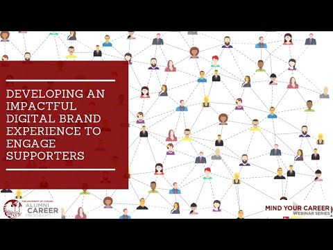 GRAHAM SCHOOL Webinar: Developing an Impactful Digital Brand Experience to Engage Supporters