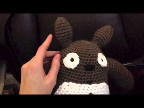 How To Make The Grey Totoro Youtube
