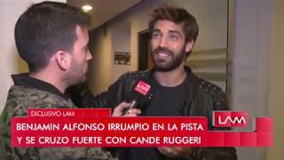 Benjamín Alfonso habló tras el cruce que tuvo con Candela Ruggeri