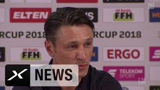 Dreierpack! Bayern-Trainer Niko Kovac schwärmt von Robert Lewandowski | FC Bayern | Supercup | Spox