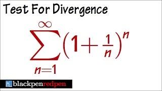 Series 1 1 N N Test For Divergence