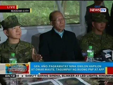 BP: Press conference ng AFP at DND