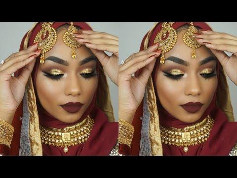 Bengali/Indian bridal makeup tutorial | Sabina Hannan