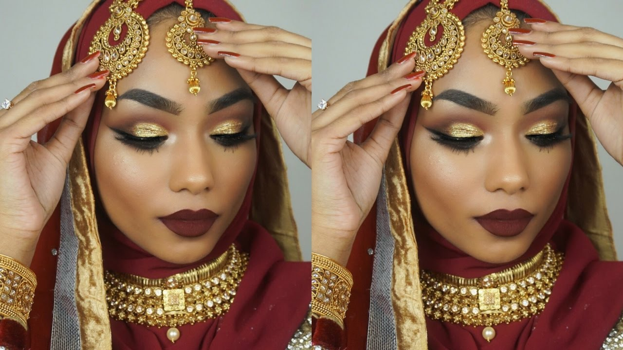 Bengali Indian Bridal Makeup Tutorial Sabina Hannan