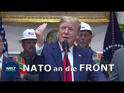 NATO-ERWEITERUNG: Donald Trump sieht viel Arbeit für die Allianz im Nahen Osten