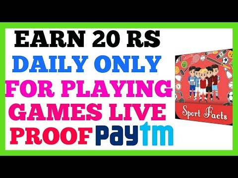 Earn Paytm Cash by Playing Games | New application to earn paytm cash | how to earn paytm cash daily