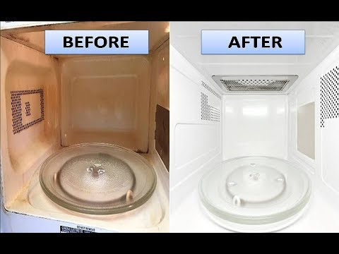 How To Clean Microwave With Vinegar And Lemon Quick Easy Methods