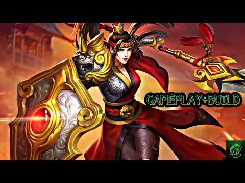 Гайд на Магнолию  новая ИМБА   Hua Mulan (Magnolia) Gameplay+build   Heroes Evolved