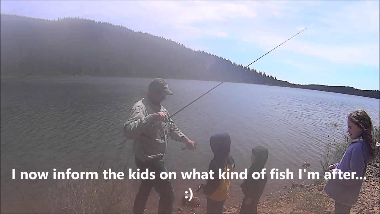 Trout fishing clear lake mt hood oregon youtube for Clear lake oregon fishing