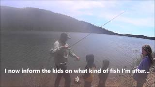 Trout fishing Clear Lake Mt. Hood Oregon