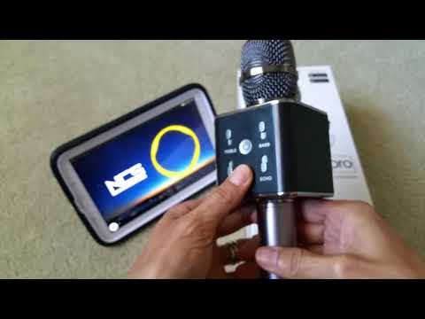 Full Review On My Karaoke Pro 2 in 1 Bluetooth Microphone & Speaker IOS  Android Mac OSx & Windows!