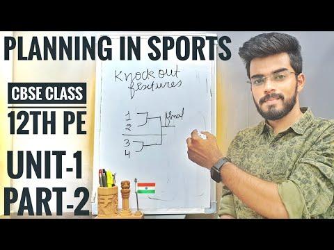 Fixtures | Planning in Sports | Unit - 1 | Part - 2 [2020-21]🔥🔥