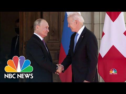 Lester Holt Reflects On The Biden-Putin Summit