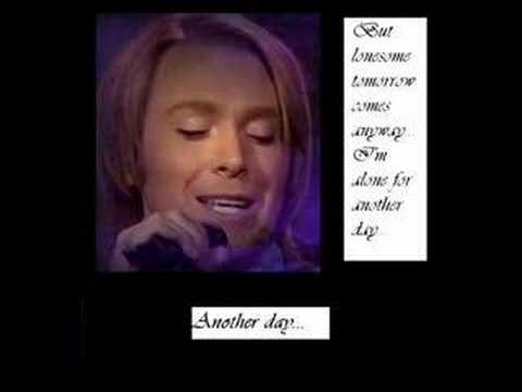Clay Aiken - Lover All Alone (with lyrics and pics)