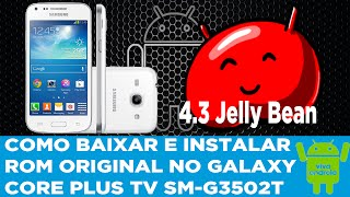 Stock Rom Firmware Samsung Galaxy Core Plus TV SM-G3502T