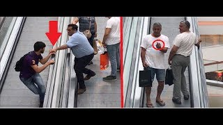 LOVE ESCALATOR PRANK