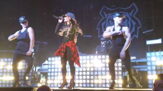 Becky  G break a sweat  la familia  tour