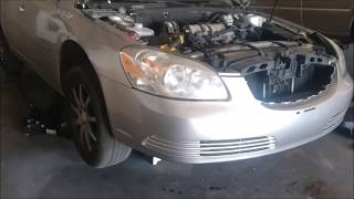 2008 Buick Lucerne Radiator and heater line replaced.