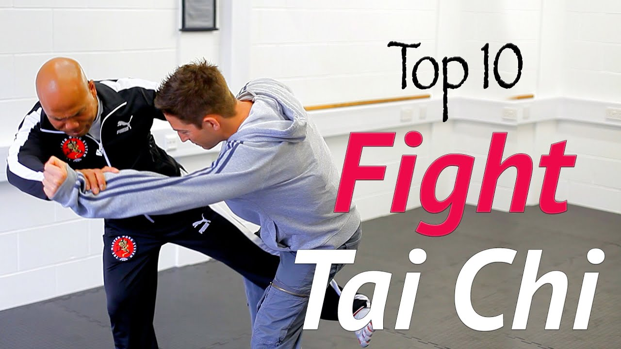 Célèbre Top 10 Tai Chi fight moves in real combat - awesome tai chi chuan  FK88